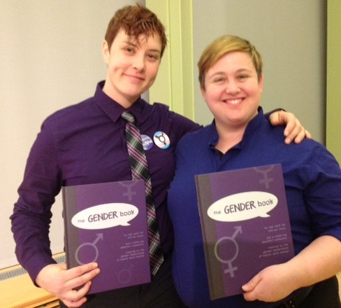 two of the three authors of the GENDER book