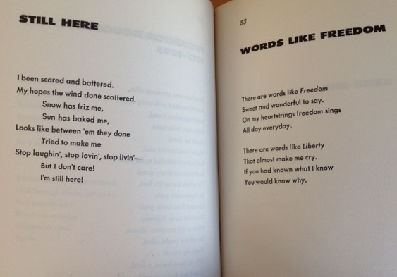 Langston double poems
