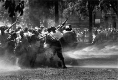 Photo credit: Charles Moore, 1963 — in Birmingham, AL