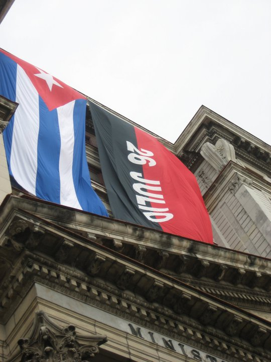 July 26 was a national holiday in Cuba.  Photo by Karen G. Johnston