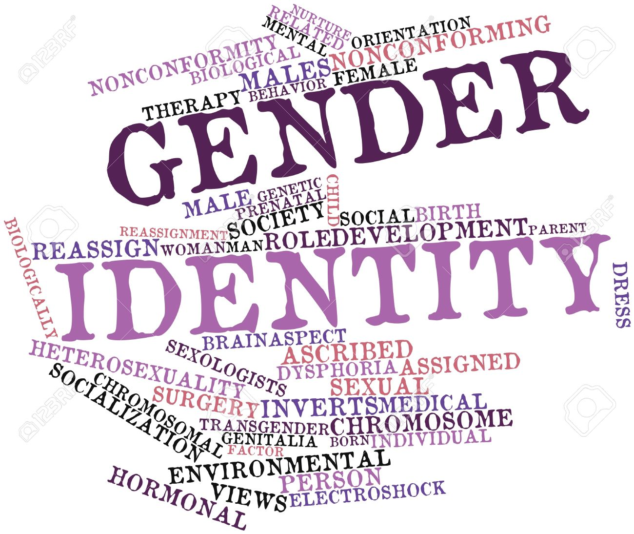 16602406-Abstract-word-cloud-for-Gender-identity-with-related-tags-and-terms-Stock-Photo
