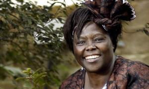 Nobel Peace Prize winner, Wangari Maathai