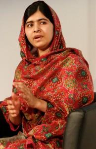 Nobel Peace Prize laureate, Malala Yousafzai