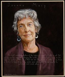 Portrait of Joanna Macy by Paul Shetterly