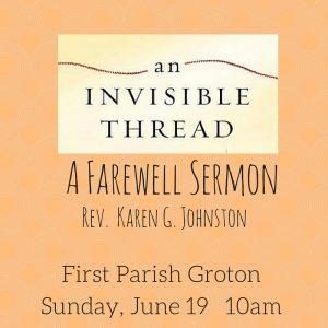 A Farewell Sermon
